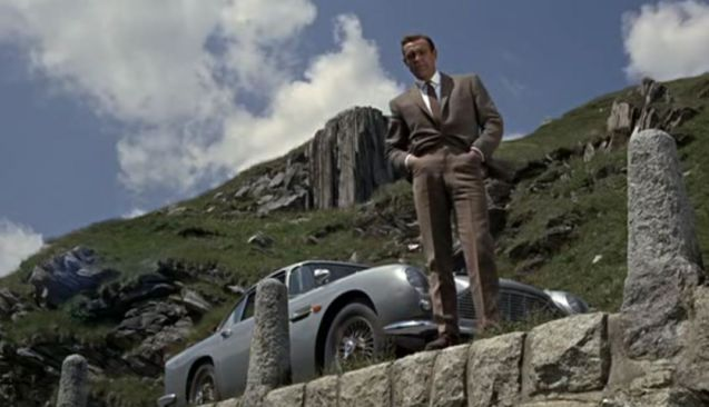 "Best car: the Aston Martin DB5, ""with some modifications""."