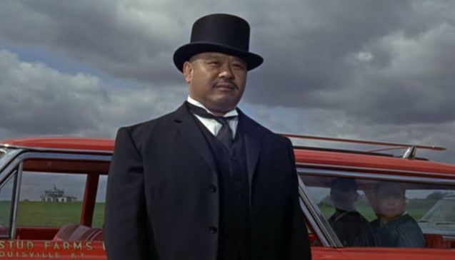 Best henchman: Harold Sakata as Oddjob.