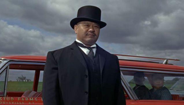Best henchman: Harold Sakata as Oddjob.
