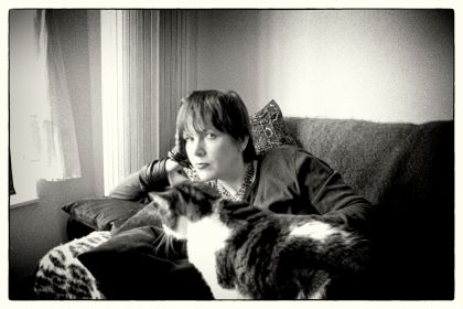 Me and Tiger, circa 2000 (photograph by Kevin Jackson)
