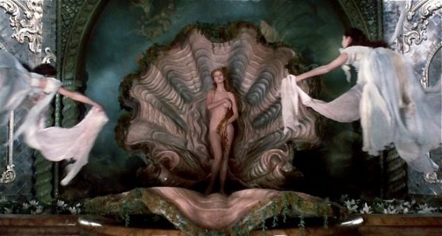 Venus on the Half-Shell: Uma Thurman.