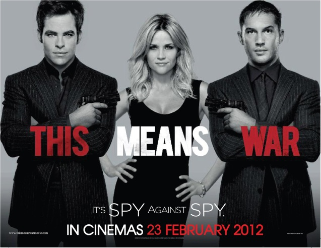 This Means War 2012 film movie poster 2
