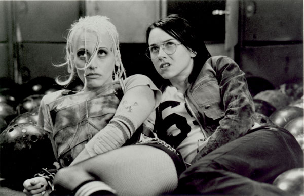 Lori Petty as Tank Girl. I forgot Naomi Watts was also in this - she plays Jet Girl; this was six years before Mulholland Drive.