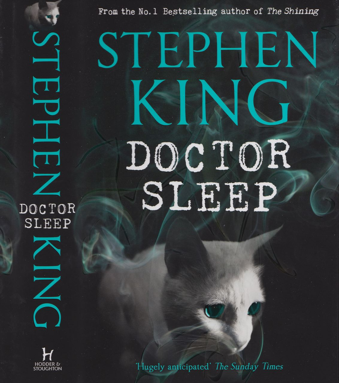 Stephen King Book Cover With Fifties Style Blue Car