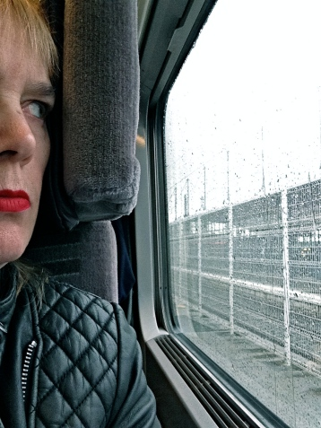 Calais, from Eurostar.