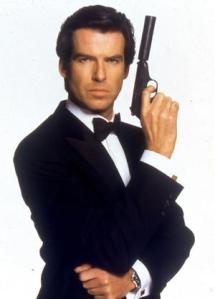 Brosnan in GoldenEye.