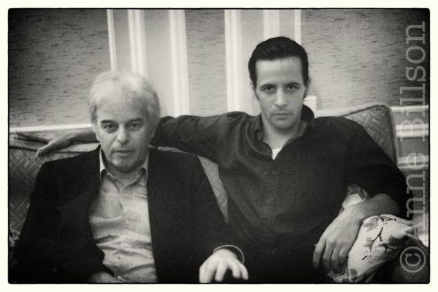 Alejandro Jodorowsky and Axel Jodorowsky, 1990.