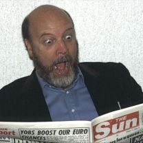 Paul Bartel, actor & film-maker. London , 1985.