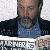 Paul Bartel, actor & film-maker. London , 1985.