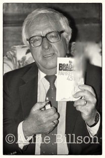Ray Bradbury, writer. London, 1984.