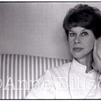 Anita Brookner, writer. London, 1984.