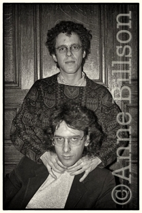 Ethan & Joel Coen, film-makers. London, 1985.
