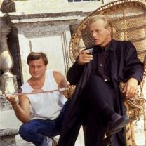 Rutger Hauer, actor. Rome, 1990.