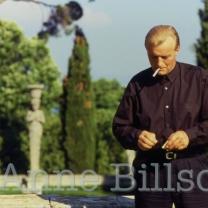 Rutger Hauer, actor. Rome, 1990.