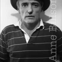 Dennis Hopper, actor & film-maker. London, 1982.