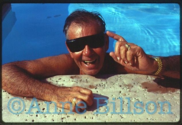 Russ Meyer, film-maker. Palm Desert, 1991.