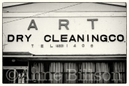 Art dry cleaning.