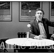 David Rudland, restaurateur. London, 1983.