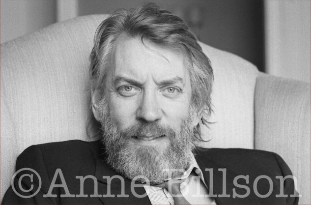 Donald Sutherland, actor. London, 1985.