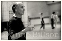 Glen Tetley, choreographer. London, 1984.