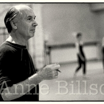 Glen Tetley, choreographer. London, 1984.