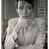 Masami Tsuchiya, musician. London, 1982.