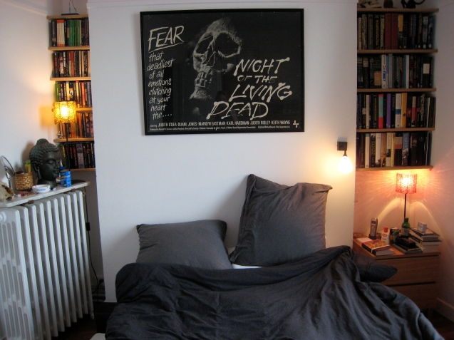 The bedroom - when it was finished.