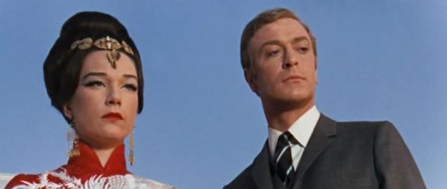 Shirley MacLaine and Michael Caine in Gambit.