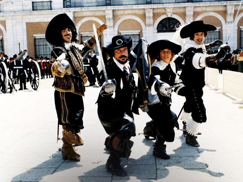 Risultati immagini per the three musketeers film 1973