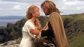 Rebecca De Mornay as Milady (with Kiefer Sutherland as Athos) in The Three Musketeers (1993)