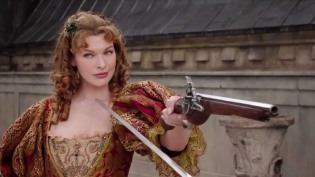 Milla Jovovich as Milady in The Three Musketeers (2011)