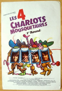 Les quatre Charlots mousquetaires (1974)