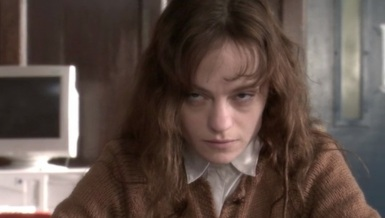 Angela Bettis as Carrie in the TV movie.