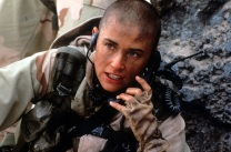 Demi Moore in G.I. Jane.