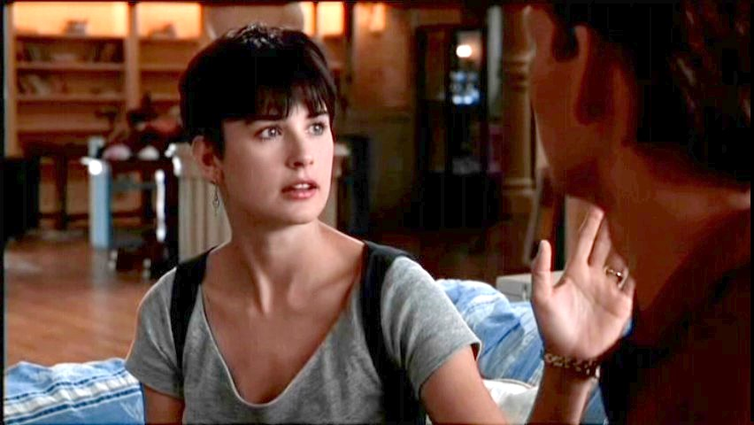 Demi Moore In Ghost Haircut