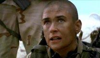 Demi Moore in G.I. Jane.