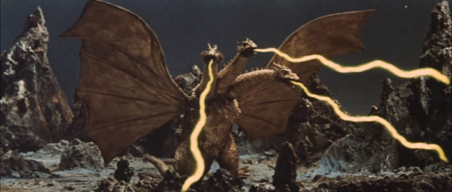 Ghidorah, the Three-Heaqded Monster.