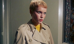 Mia Farrow in Rosemary's Baby.