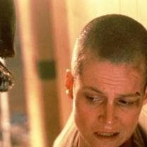 Sigourney Weaver in Alien³.