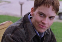 Hilary Swank in Boys Don't Cry.