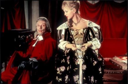 Mylène Demongeot as Milady in Les trois mousquetaires (1961)