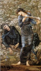The Beguiling of Merlin by Edward Burne-Jones.