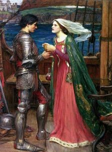 Tristan and Isolde by John William Waterhouse.