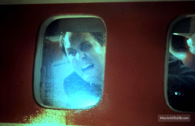 John Lithgow in Nightmare at 20,000 Feet, from Twilight Zone: The Movie (1983)