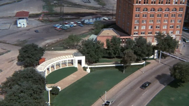 Dealey Plaza, Dallas (from the film Executive Action
