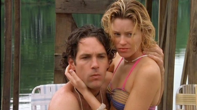 Paul Rudd and Elizabeth Banks in Wet Hot American Summer.
