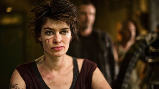 Lena Headey as Mama in Dredd (2012)