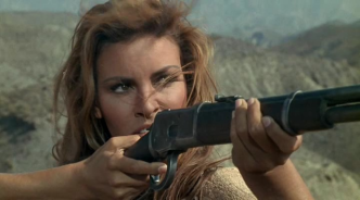 "Native American revolutonary: Raquel Welch as ""Sarita"" in 100 Rifles (1969)"