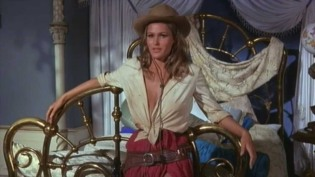"Decoration: Ursula Andress as ""Maxine Richter"" in 4 for Texas (1963)"