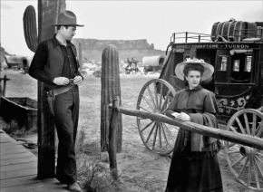 "Nice girl: Cathy Downs as ""Clementine Carter"" in My Darling Clementine (1946)"
